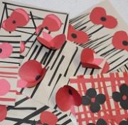 Poppy Art for Remembrance