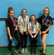 County Badminton Finalists 2020